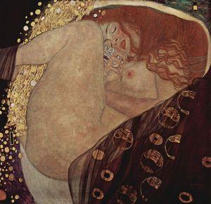 Danaë by Gustav Klimt http://tinyurl.com/6gj2bst Transcendence and Ecstasy Come Together in The Female Body